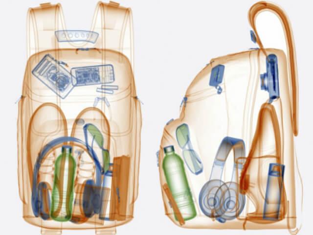 Рентген рюкзака
