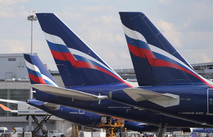 Самолет АК Россия