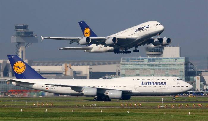 Перелет с Lufthansa