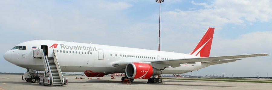 Правила перевоза багажа и ручной клади в авиакомпании Royal Flight