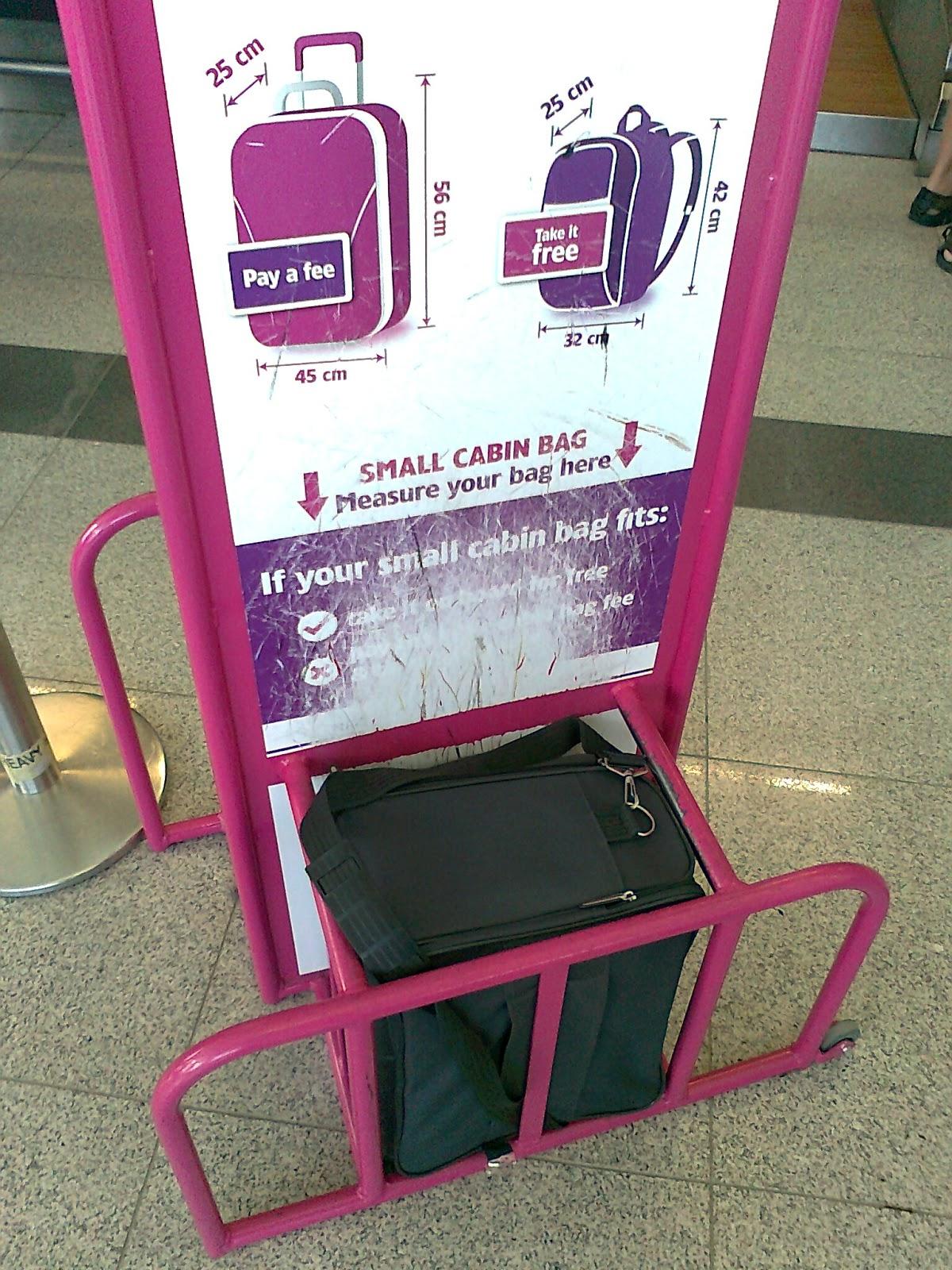Рамка для контроля размера багажа