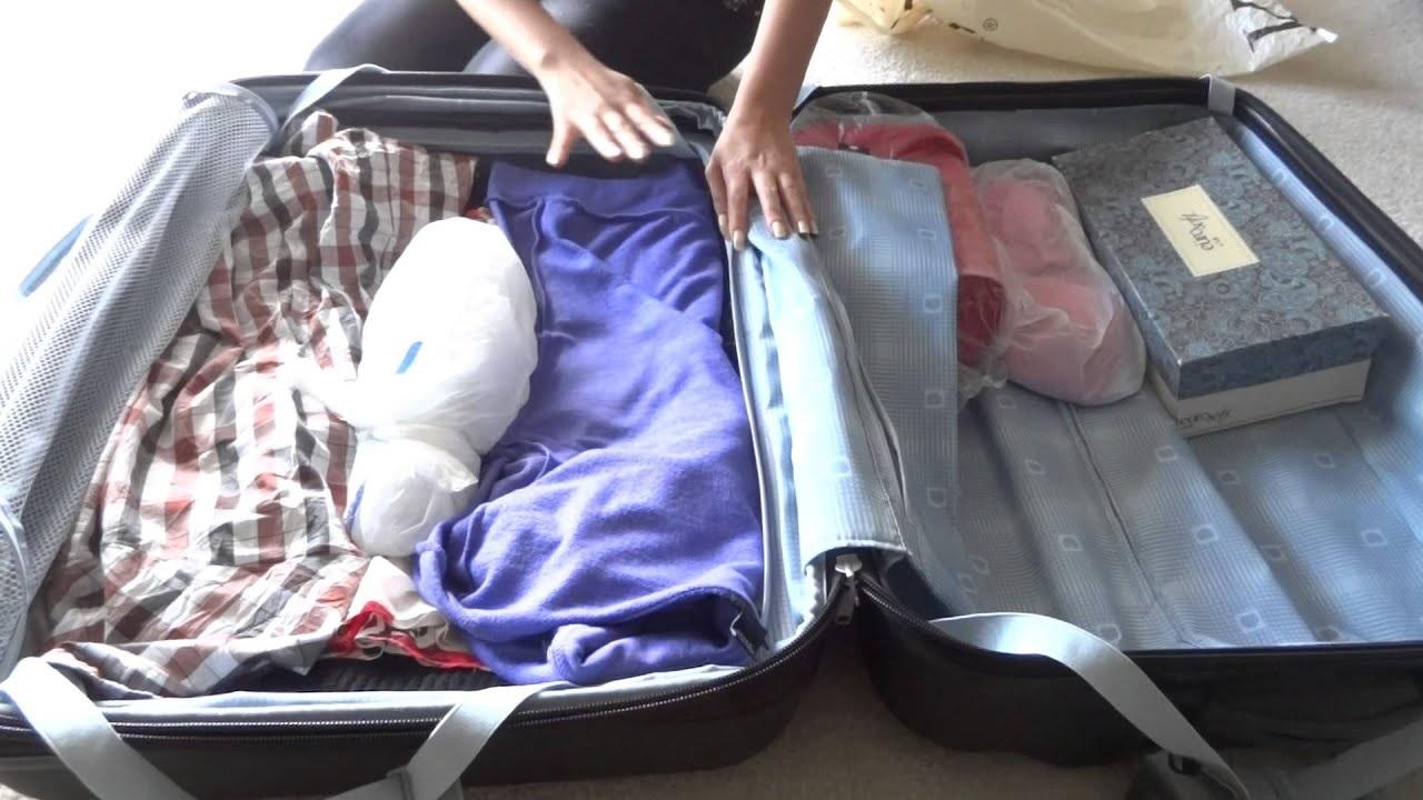 Упаковка багажа в самолет