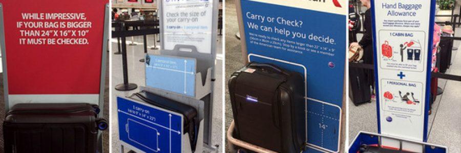 Куда в самолете кладут ручную кладь и багаж