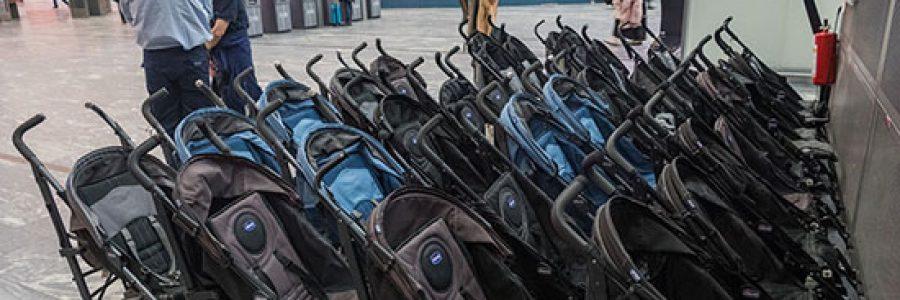 Где в аэропорту Внуково упаковать багаж и коляску