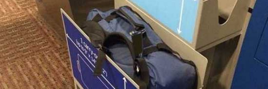 Процедура взвешивания ручной клади в аэропортах